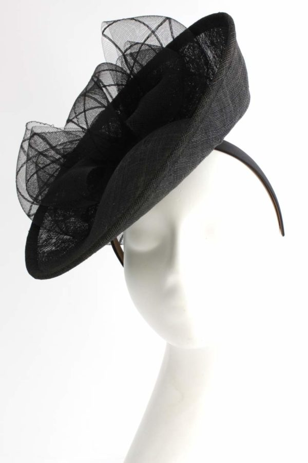 black hattinator with a double bow