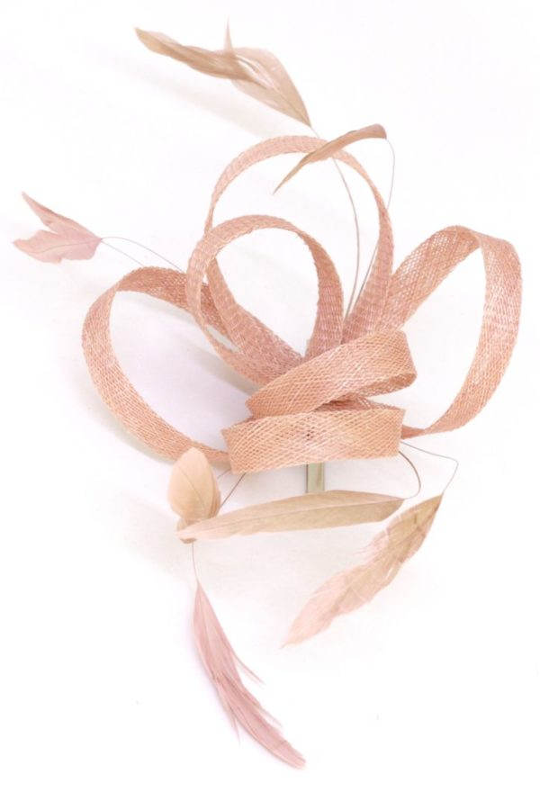 hairpin with feathers