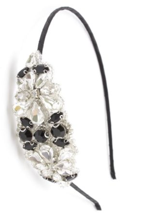 hairband with crystal applique