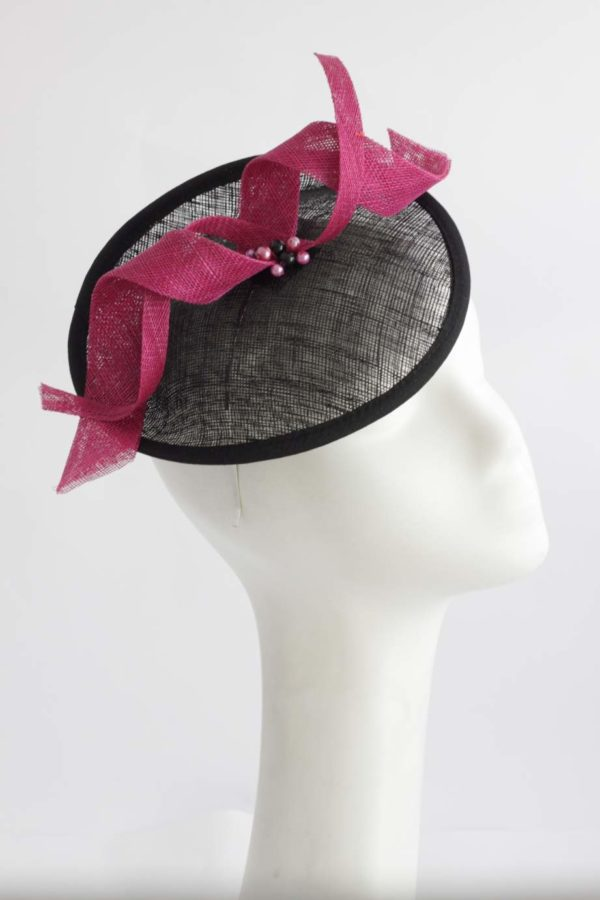 elegant and classic toque with a twist